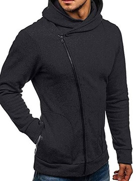 Ericdress Thick Pocket Cardigan Zipper Slim Hoodies