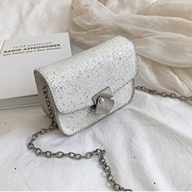 Ericdress PU Sequin Flap Crossbody Bags