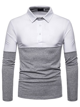 Ericdress Button Men's Casual Polo Shirt