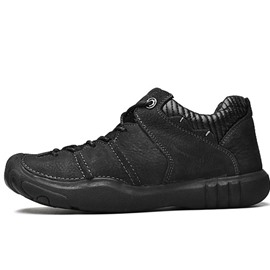 Ericdress PU Low-Cut Upper Lace-Up Men's Work Sneakers