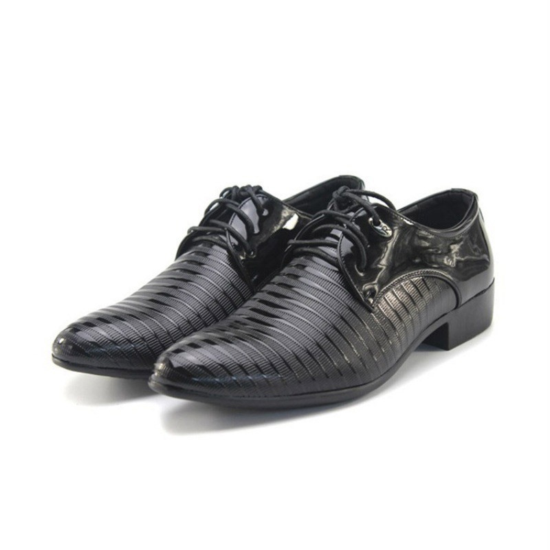Ericdress PU Pointed Toe Low-Cut Upper Men's Dress Shoes
