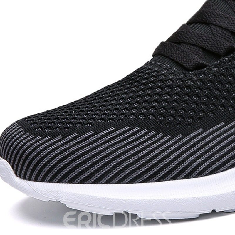 Ericdress Comfortable Mesh Low-Cut Upper Lace-Up Men's Sneakers