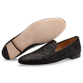 Ericdress Sequin Slip-On Low-Cut Upper Men's Dress Shoes