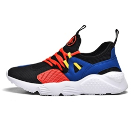Ericdress Mesh Patchwork Round Toe Lace-Up Men's Chic Athletic Shoes