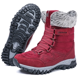Ericdress Flat With Velcro Round Toe Women's Snow Boots