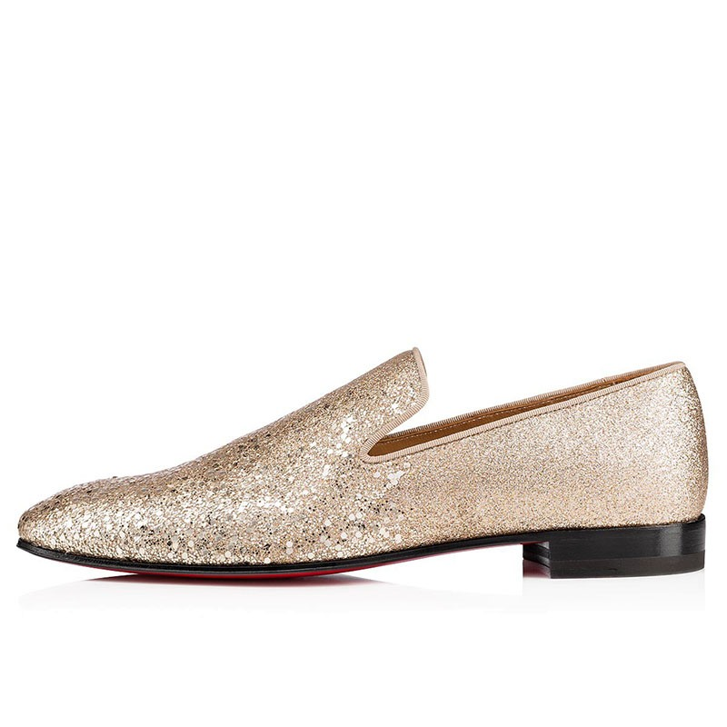 Ericdress Plain Sequin Slip-On Round Toe Men's Dress Shoes