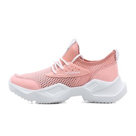 Ericdress Mesh Hollow Lace-Up Round Toe Women's Sneakers