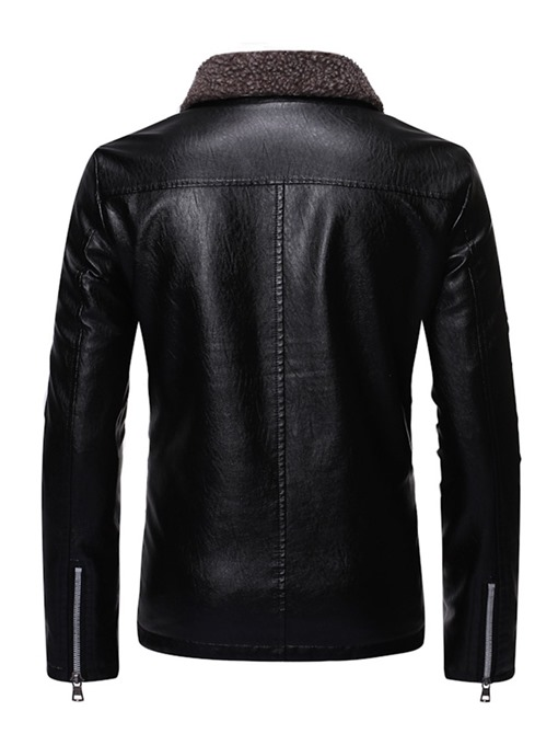Ericdress Zipper Single Lapel Men's Jacket