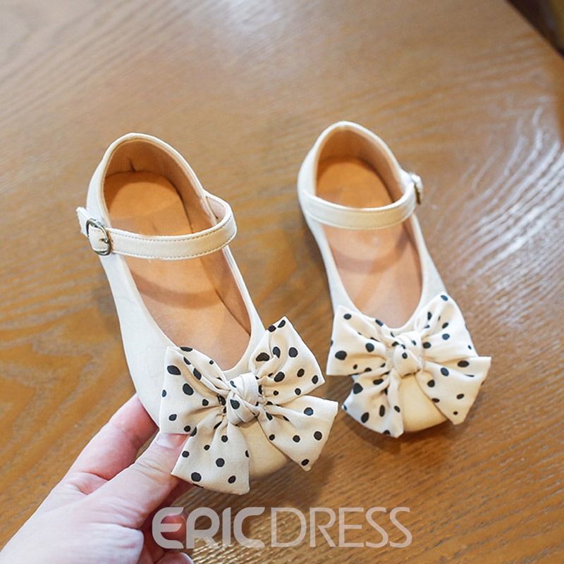 Ericdress Round Toe Fall Polka Dot Baby Shoes