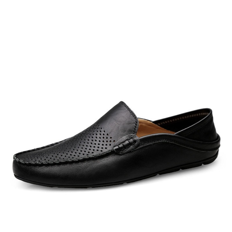Ericdress PU Hollow Low-Cut Upper Men's Work Shoes