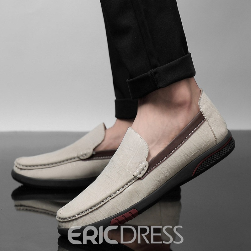 Ericdress Low-Cut Upper PU Men's Causal Shoes