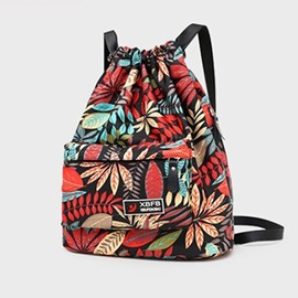 mochilas oxford con estampado ericdress