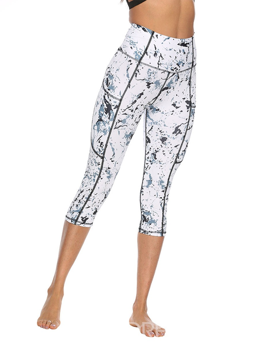 Ericdress Print Anti-Sweat Polyester Summer Female Pants