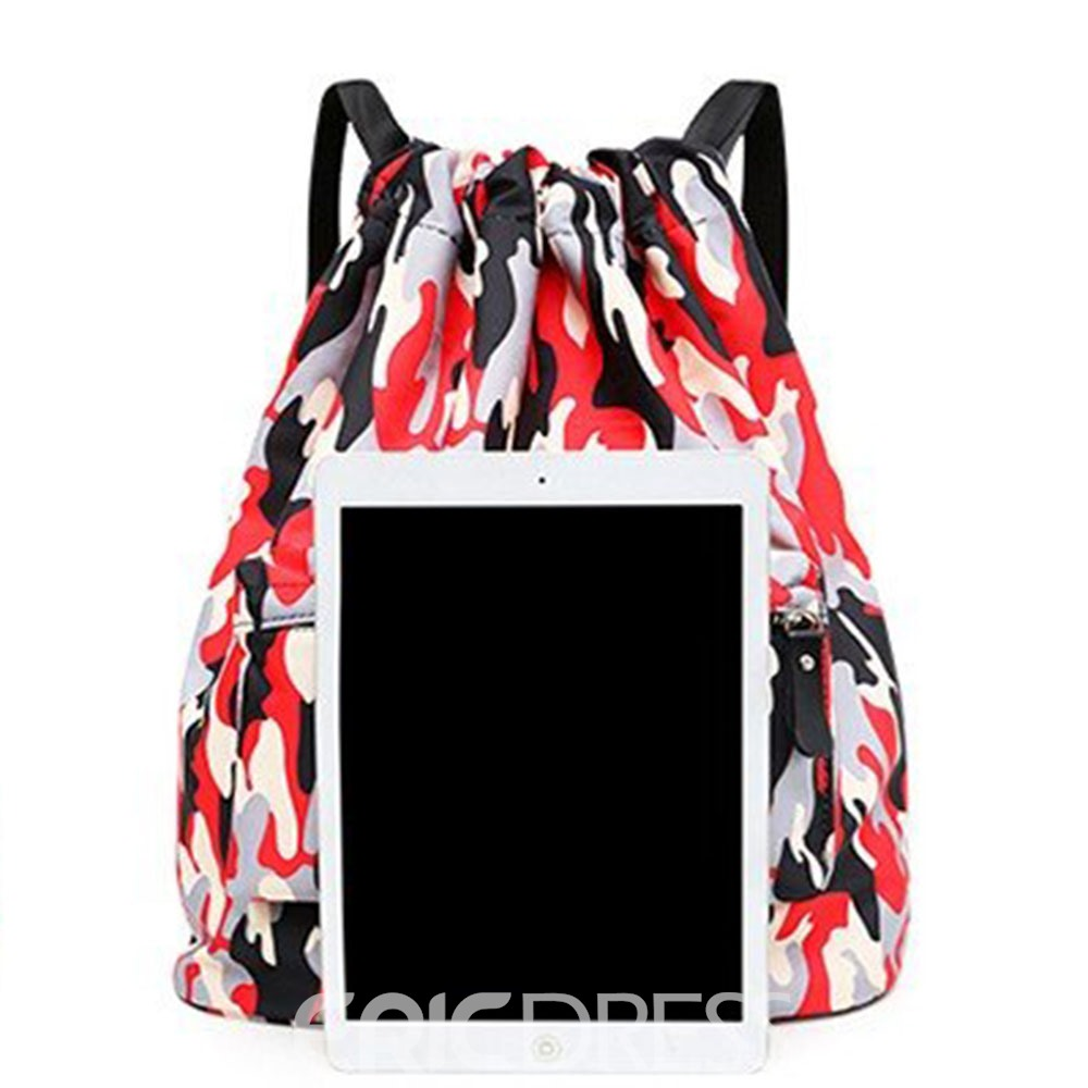 Ericdress Print Oxford Backpacks