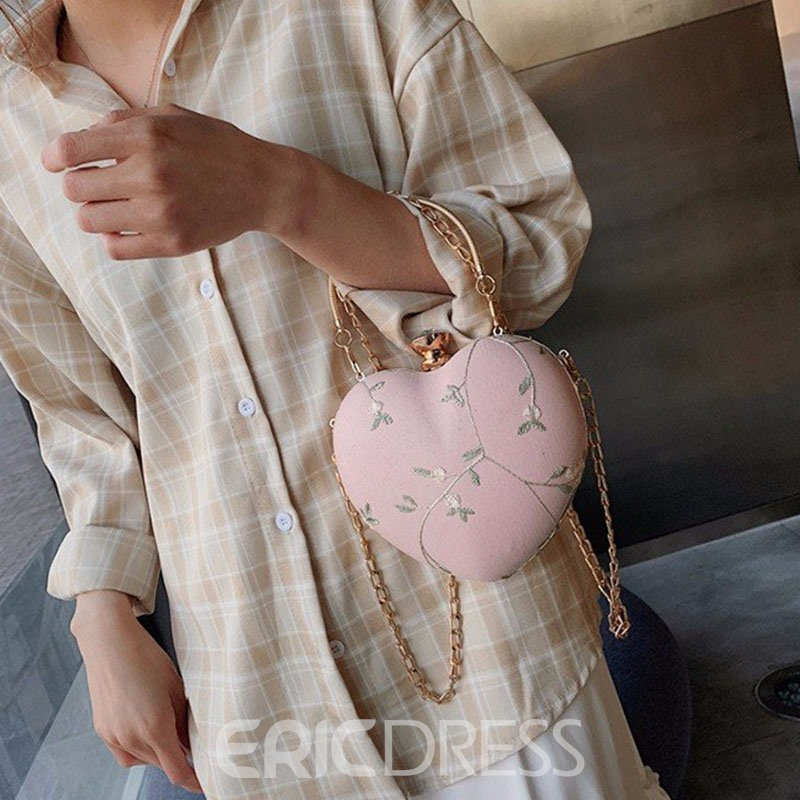 Ericdress Floral Two Bags Set Chain Tote Bags