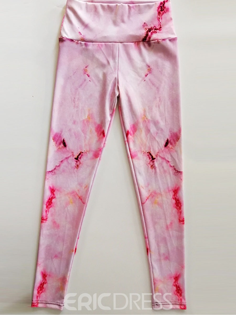 Ericdress Polyester Print Quick Dry Female Spring Pants