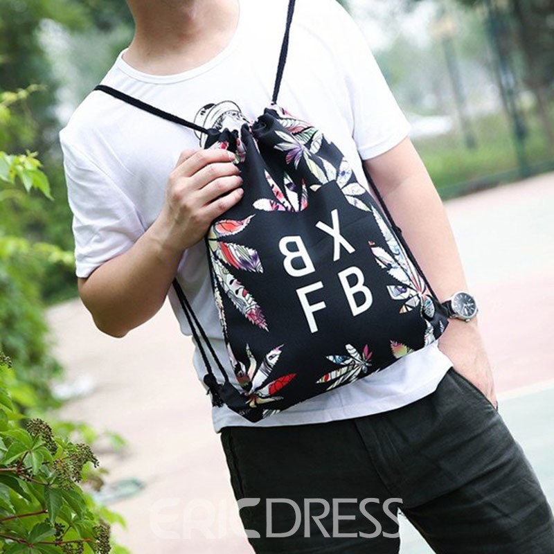 Ericdress Print Oxford Letter Backpacks