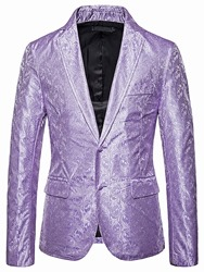 Ericdress Slim Casual Notched Lapel Mens leisure Blazer