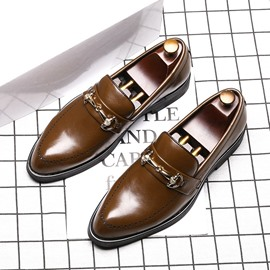 Ericdress Low-Cut Upper PU Men's Dress Shoes