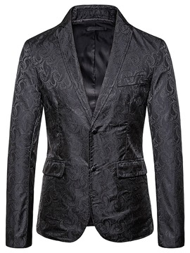 Ericdress Slim Patchwork Casual Men's leisure Blazer