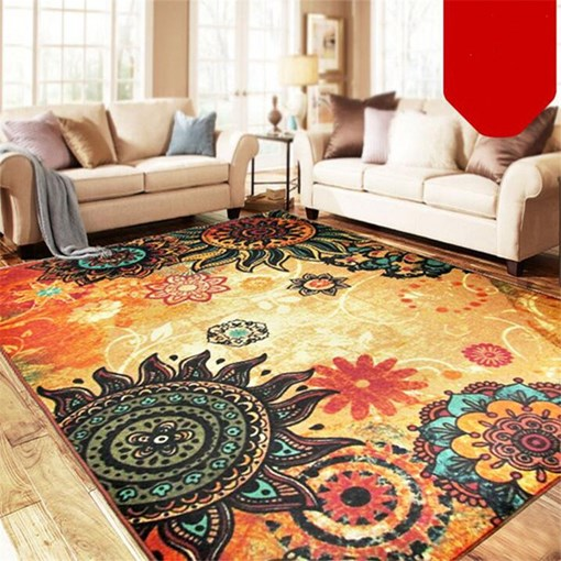 Ericdress Skid Resistance Color Block Rugs Modern