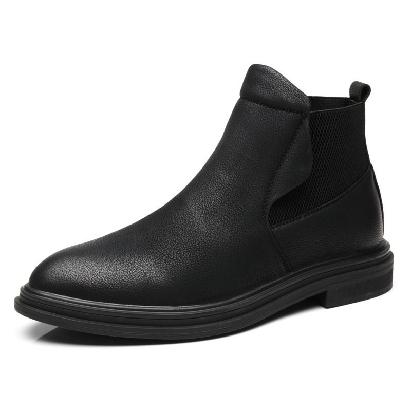 Ericdress Plain Pointed Toe Men's Boots