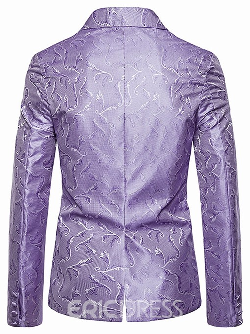Ericdress Print Single-Breasted Men's leisure Blazer
