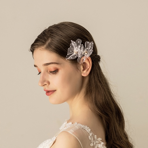 European Hair Stick Floral Hair Accessories (Wedding)