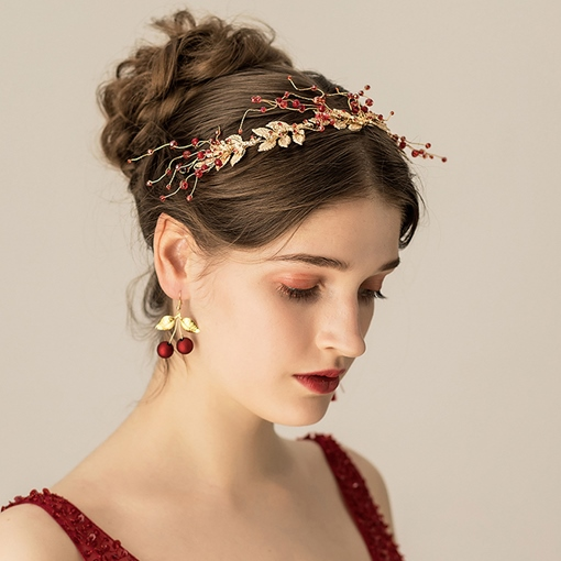 Diamante Hairband Plaid Hair Accessories (Wedding)