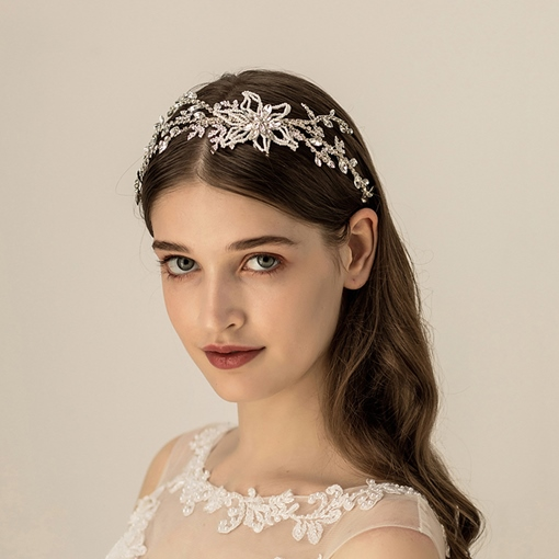 Hairband European Floral Hair Accessories (Wedding)