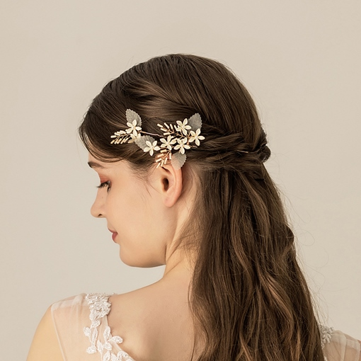 Plaid Hair Stick European Hair Accessories (Wedding)