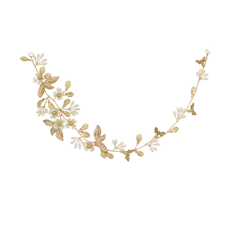 European Pearl Inlaid Hairband Hair Accessories (Wedding)