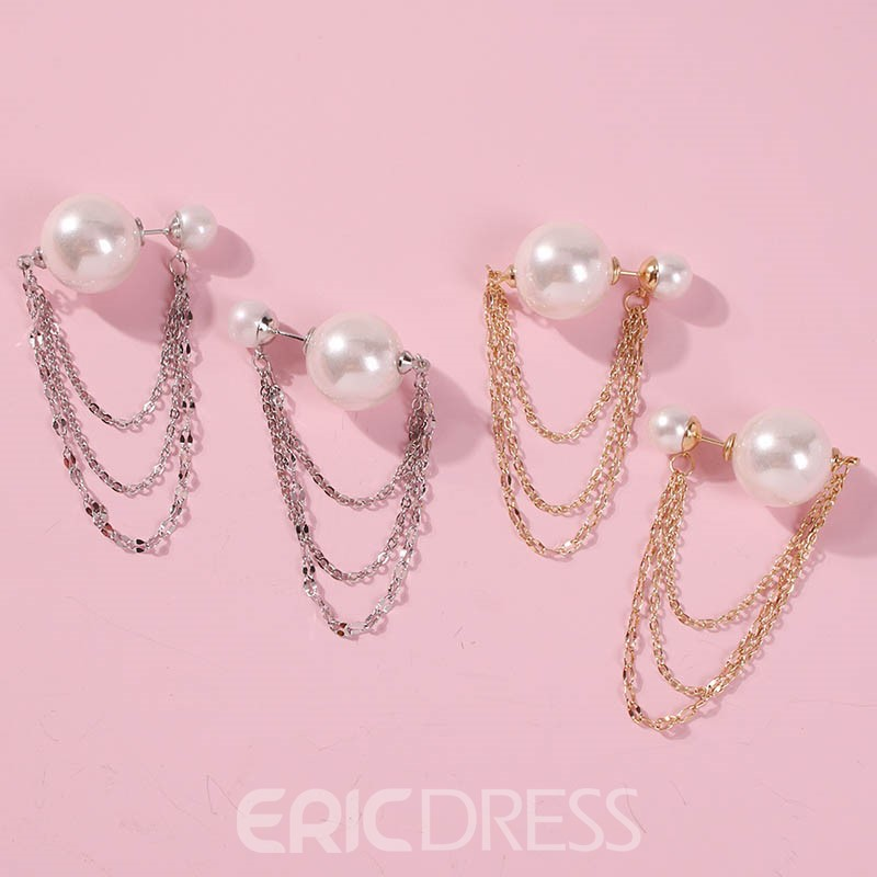 Ericdress Alloy Beads Prom Earrings
