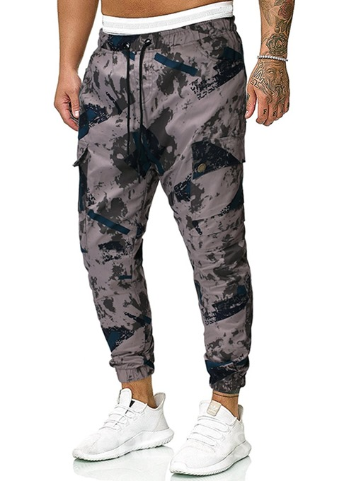 Ericdress Overall Camouflage Pocket Men's Casual Pants