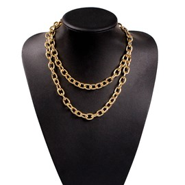 Ericdress Plain Link Chain Necklaces