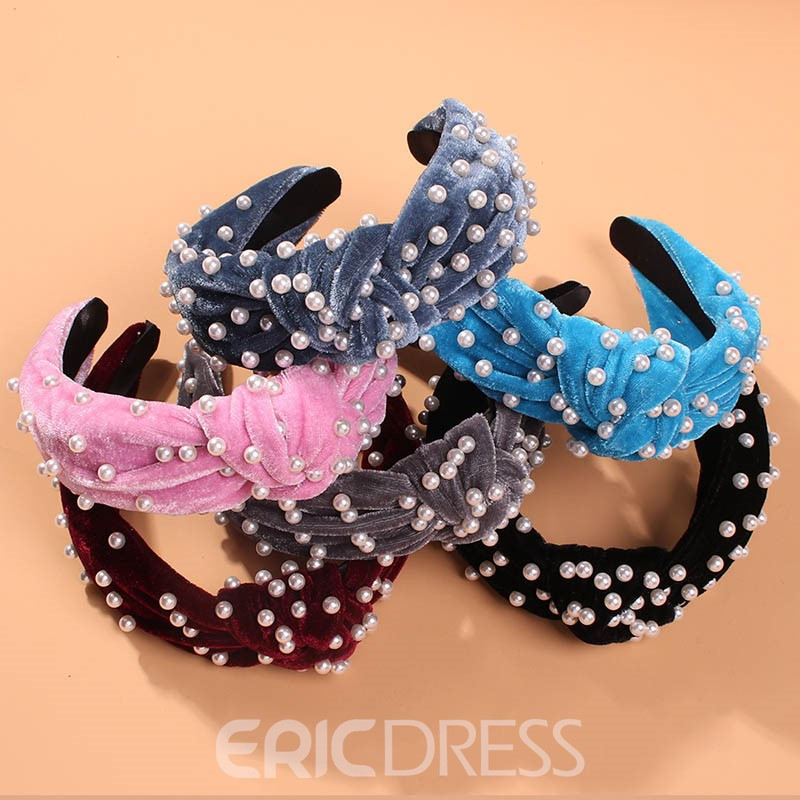 Ericdress Beads Plain Party Hair Accessories