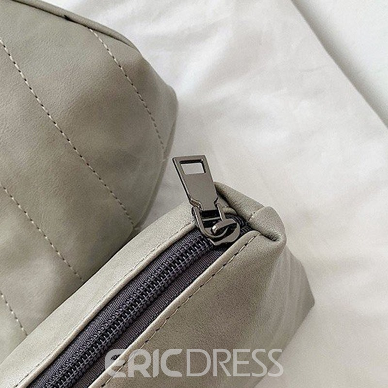 Ericdress PU Chain Rectangle Tote Bags