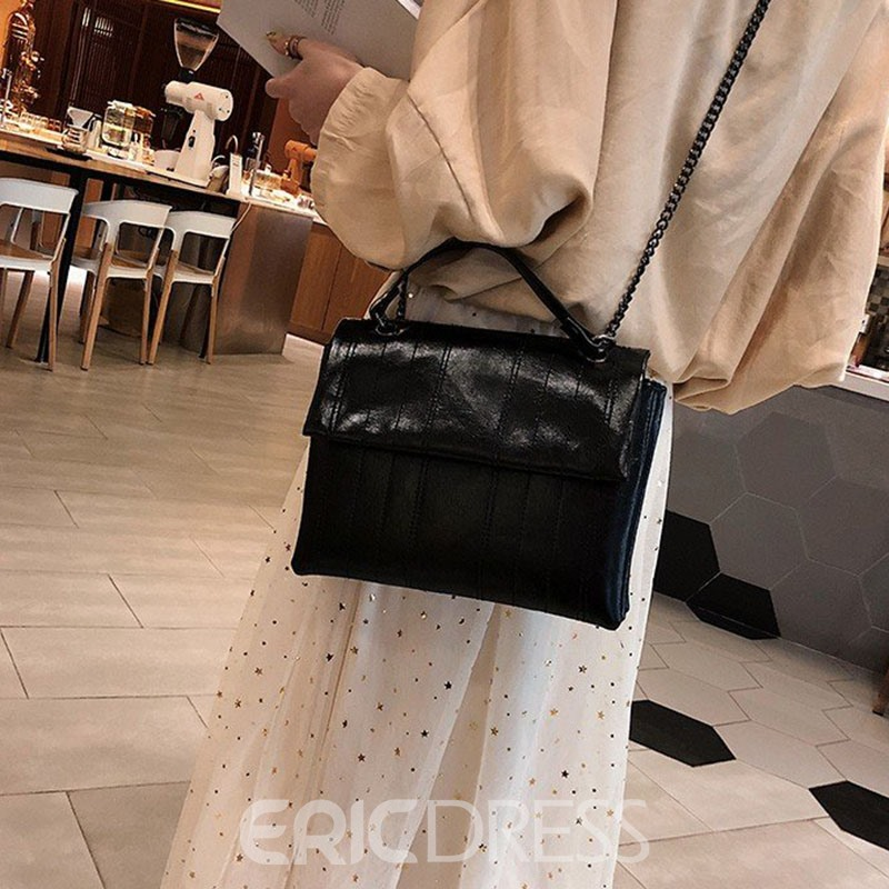 Ericdress Chain Rectangle Crossbody Bags