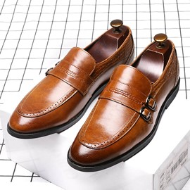 Ericdress Plain Low-Cut Upper Men's Work Shoes