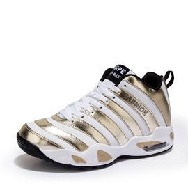 Ericdress Stripe Low-Cut Upper Lace-Up Sports Men's Sneakers
