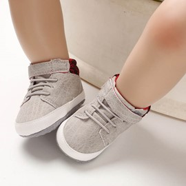 Ericdress PU Color Block Unisex Toddler Shoes