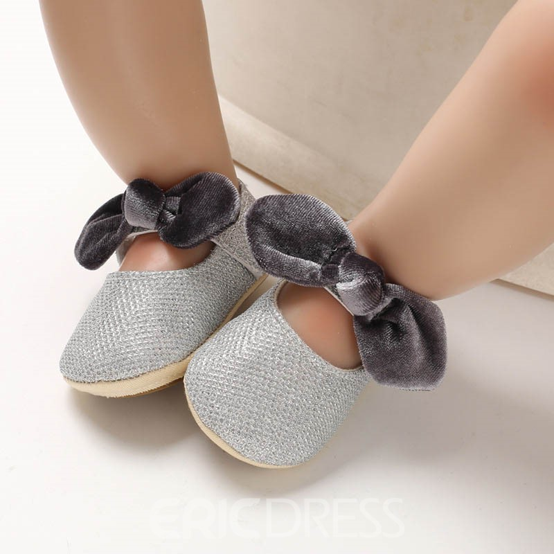 Ericdress Cotton Bowknot Toddler Shoes