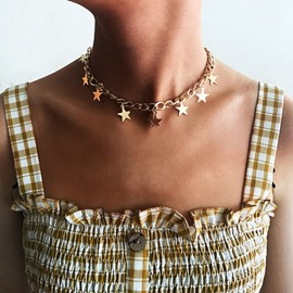 Ericdress Alloy Pendant Link Chain Necklace