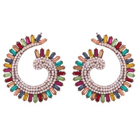 Ericdress Alloy Color Block Gift Earrings
