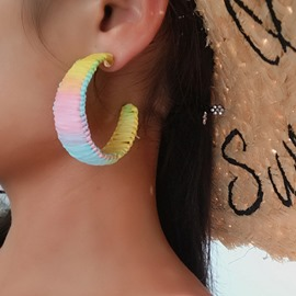 Ericdress Alloy Color Block Party Earrings