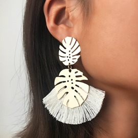 Ericdress Alloy Hollow Out Wedding Earrings