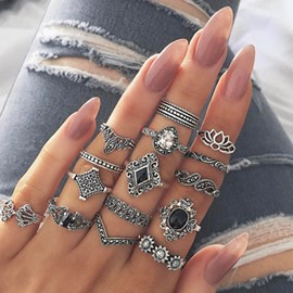 Ericdress Vintage Alloy Women's Holiday Rings