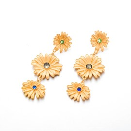 Ericdress Alloy Floral Birthday Earrings
