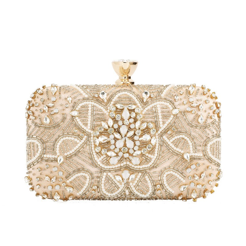 Ericdress Rhinestone Rectangle Clutches & Evening Bags