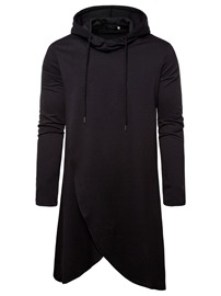 Ericdress Fashion Plain Pullover Men's Hoodies